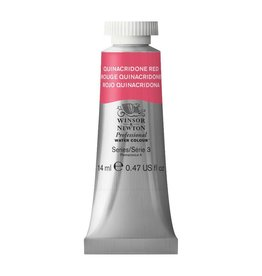 WINSOR NEWTON WINSOR & NEWTON PROFESSIONAL WATERCOLOUR QUINACRIDONE RED 14ML
