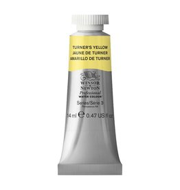 WINSOR NEWTON WINSOR & NEWTON PROFESSIONAL WATERCOLOUR TURNER'S YELLOW 14ML
