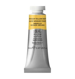 WINSOR NEWTON WINSOR & NEWTON PROFESSIONAL WATERCOLOUR WINSOR YELLOW DEEP 14ML
