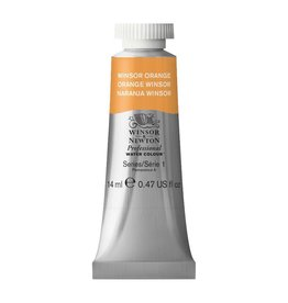WINSOR NEWTON WINSOR & NEWTON PROFESSIONAL WATERCOLOUR WINSOR ORANGE 14ML