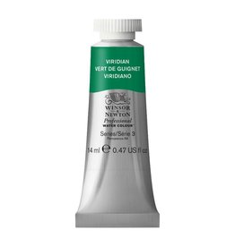 WINSOR NEWTON WINSOR & NEWTON PROFESSIONAL WATERCOLOUR VIRIDIAN 14ML