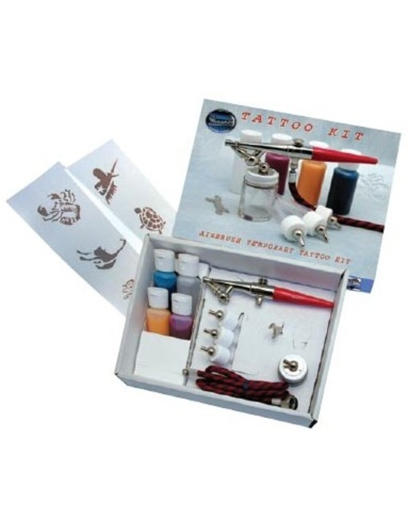 PAASCHE PAASCHE TATTOO AIRBRUSH SET    TAT-IS
