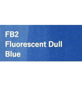 Copic COPIC SKETCH FB2 FLUORESCENT DULL BLUE