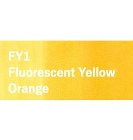 Copic COPIC SKETCH FY1 FLUORESCENT YELLOW ORANGE