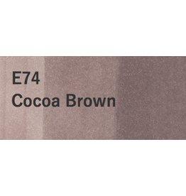 Copic COPIC SKETCH E74 COCOA BROWN