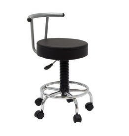 STUDIO DESIGNS FUTURA STOOL SILVER/BLACK