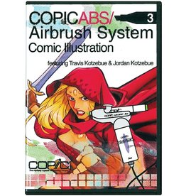 Copic COPIC AIRBRUSHING DVD COMIC