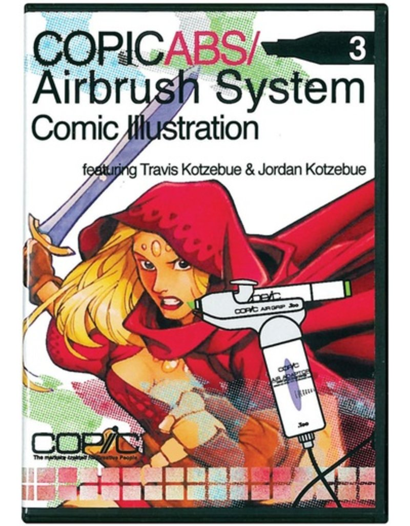 Copic COPIC AIRBRUSHING DVD COMIC