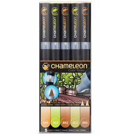 CHAMELEON CHAMELEON COLOUR TONES MARKERS EARTH SET/5
