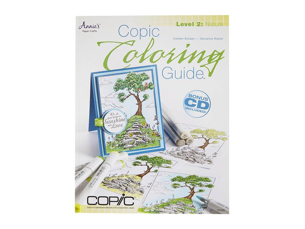 Copic COPIC COLORING GUIDE LEVEL 2