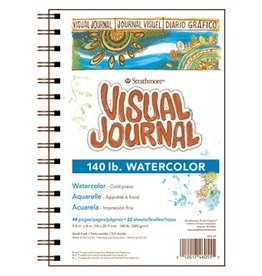 STRATHMORE STRATHMORE VISUAL JOURNAL WATERCOLOUR 140LB CP 5.5X8    460-55