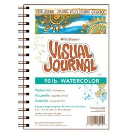 STRATHMORE STRATHMORE VISUAL JOURNAL WATERCOLOUR 90LB CP 5.5X8    460-45