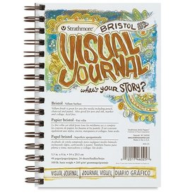 STRATHMORE STRATHMORE VISUAL JOURNAL BRISTOL VELLUM 5.5X8