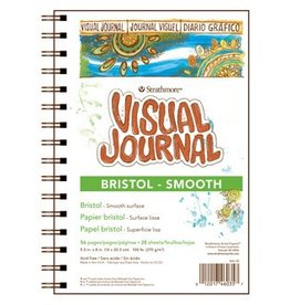 STRATHMORE STRATHMORE VISUAL JOURNAL BRISTOL SMOOTH 5.5X8