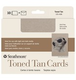 STRATHMORE STRATHMORE TONED TAN CARDS WITH ENVELOPES 5X7
