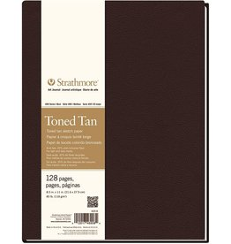 STRATHMORE STRATHMORE ART JOURNAL TONED TAN HARDBOUND 8.5X11    STR-469-8