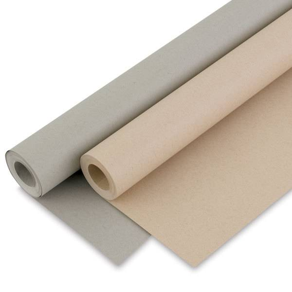"""STRATHMORE STRATHMORE TONED GREY SKETCH PAPER ROLL 42""""X10YD"""
