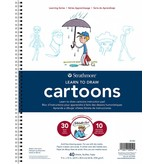 STRATHMORE STRATHMORE LEARNING SERIES LEARN TO DRAW CARTOONS 9X12 COIL BOUND