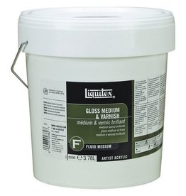LIQUITEX LIQUITEX GLOSS MEDIUM & VARNISH 128OZ