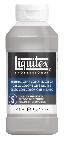 LIQUITEX LIQUITEX GESSO NEUTRAL GRAY 8OZ