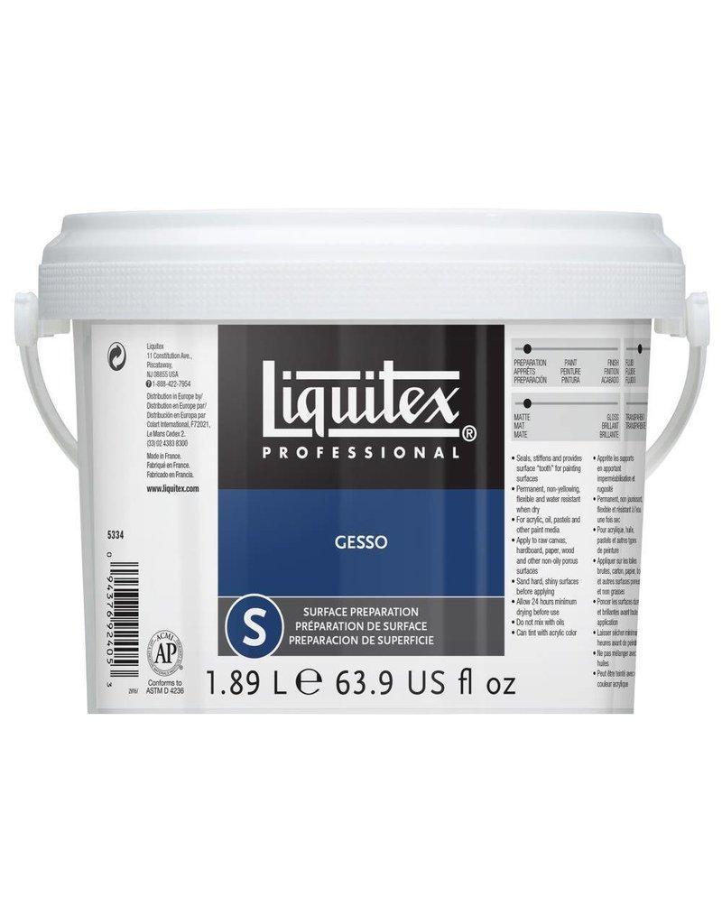 LIQUITEX LIQUITEX GESSO WHITE 64OZ
