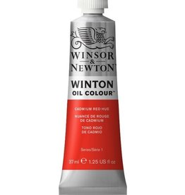 WINSOR NEWTON WINTON OIL COLOUR CADMIUM RED MEDIUM 37ML