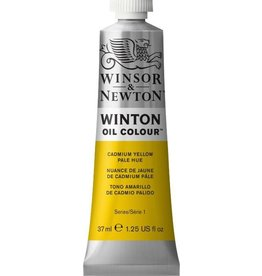 WINSOR NEWTON WINTON OIL COLOUR CADMIUM YELLOW PALE HUE 37ML