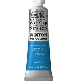 WINSOR NEWTON WINTON OIL COLOUR CERULEAN BLUE HUE 37ML