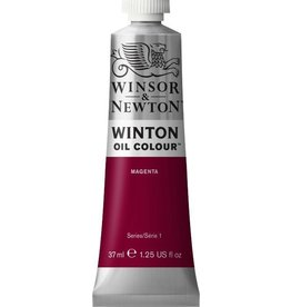 WINSOR NEWTON WINTON OIL COLOUR MAGENTA 37ml
