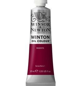 WINSOR NEWTON WINTON OIL COLOUR MAGENTA 37ml