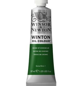 WINSOR NEWTON WINTON OIL COLOUR OXIDE OF CHROMIUM 37ml