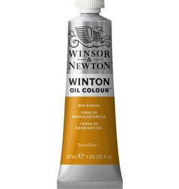 WINSOR NEWTON WINTON OIL COLOUR RAW SIENNA 37ML