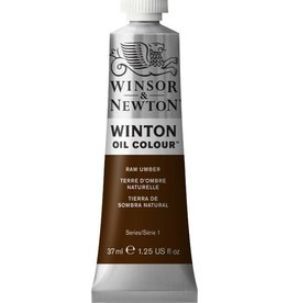 WINSOR NEWTON WINTON OIL COLOUR RAW UMBER 37ml