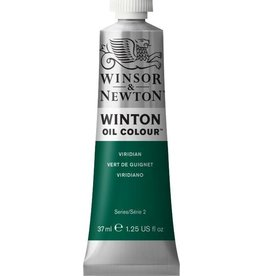 WINSOR NEWTON WINTON OIL COLOUR VIRIDIAN 37ML