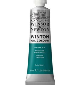 WINSOR NEWTON WINTON OIL COLOUR VIRIDIAN HUE 37ML