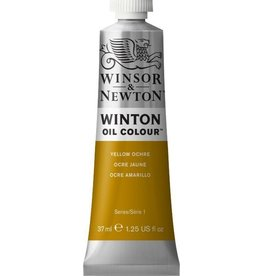 WINSOR NEWTON WINTON OIL COLOUR YELLOW OCHRE 37ML