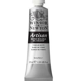 WINSOR NEWTON ARTISAN WATER MIXABLE OIL COLOUR TITANIUM WHITE 37ML