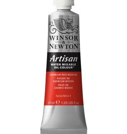 WINSOR NEWTON ARTISAN WATER MIXABLE OIL COLOUR CADMIUM RED HUE 37ML