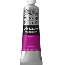 WINSOR NEWTON ARTISAN WATER MIXABLE OIL COLOUR MAGENTA 37ML