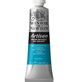 WINSOR NEWTON ARTISAN WATER MIXABLE OIL COLOUR CERULEAN BLUE HUE 37ML
