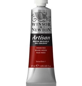 WINSOR NEWTON ARTISAN WATER MIXABLE OIL COLOUR INDIAN RED 37ML