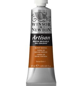 WINSOR NEWTON ARTISAN WATER MIXABLE OIL COLOUR BURNT SIENNA 37ML