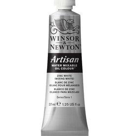WINSOR NEWTON ARTISAN WATER MIXABLE OIL COLOUR ZINC WHITE 37ML