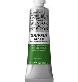 WINSOR NEWTON GRIFFIN ALKYD OIL COLOUR OXIDE OF CHROMIUM 37ML