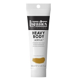 LIQUITEX LIQUITEX HEAVY BODY ACRYLIC IRIDESCENT RICH GOLD 59ML