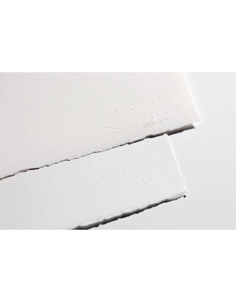 ARCHES ARCHES WATERCOLOUR PAPER 140LB ROUGH 22X30 BRIGHT WHITE