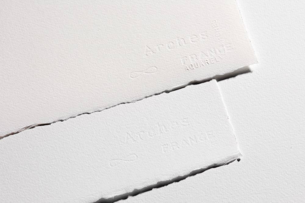 ARCHES ARCHES WATERCOLOUR PAPER 140LB ROUGH 22X30 NATURAL WHITE