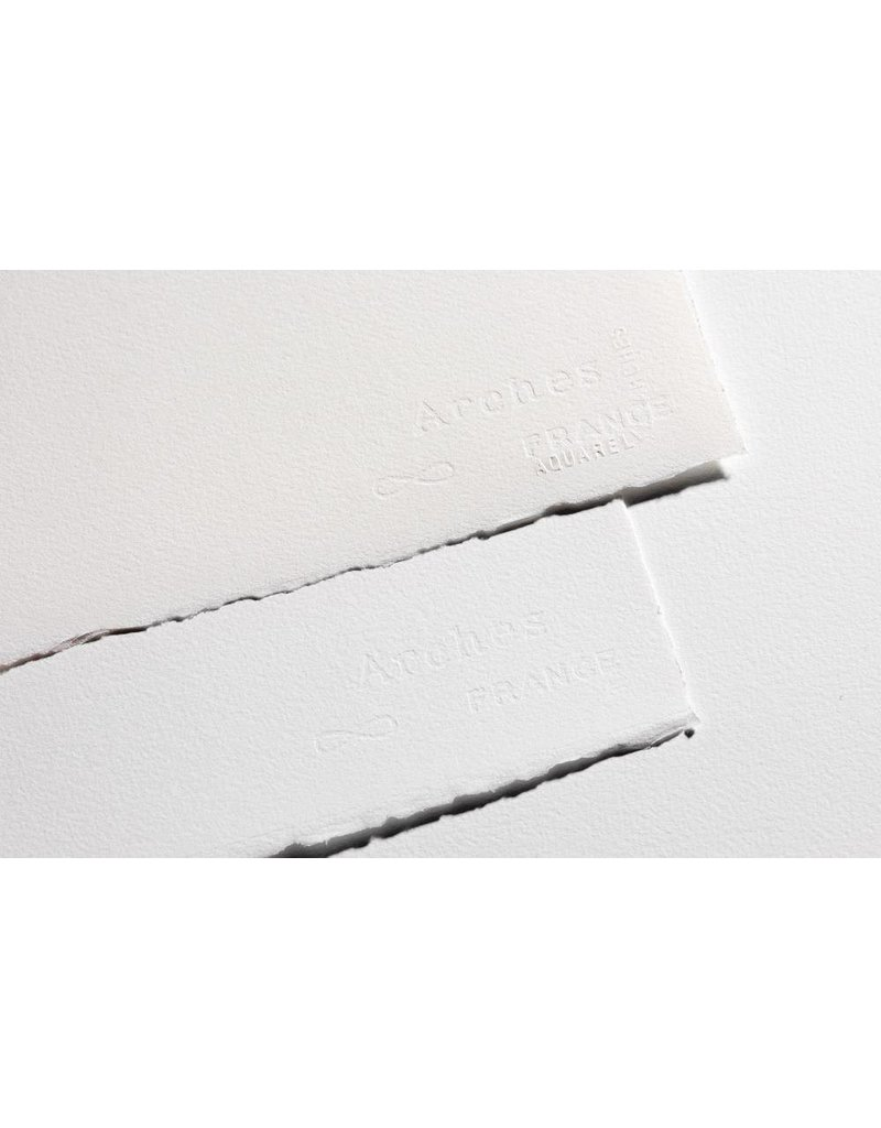 ARCHES ARCHES WATERCOLOUR PAPER 90LB ROUGH 22X30 NATURAL WHITE