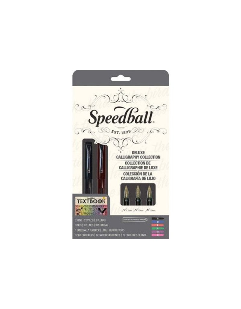SPEEDBALL INC SPEEDBALL CALLIGRAPHY FOUNTAIN PEN DELUXE SET