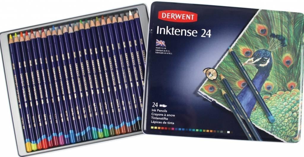 DERWENT DERWENT INKTENSE PENCIL SET/24